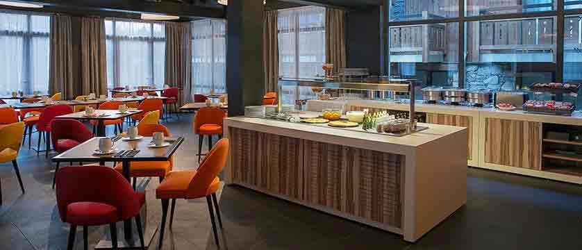 Hotel Excelsior buffet breakfast
